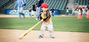 Choose a bat for the beginning hitter