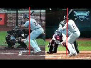 load hands baseball swing